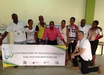 Chocó y Antioquia, comprometidos con la paz